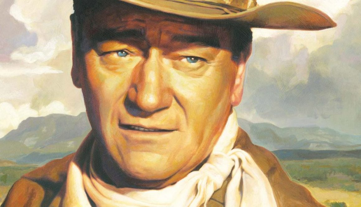 John Wayne Illustration